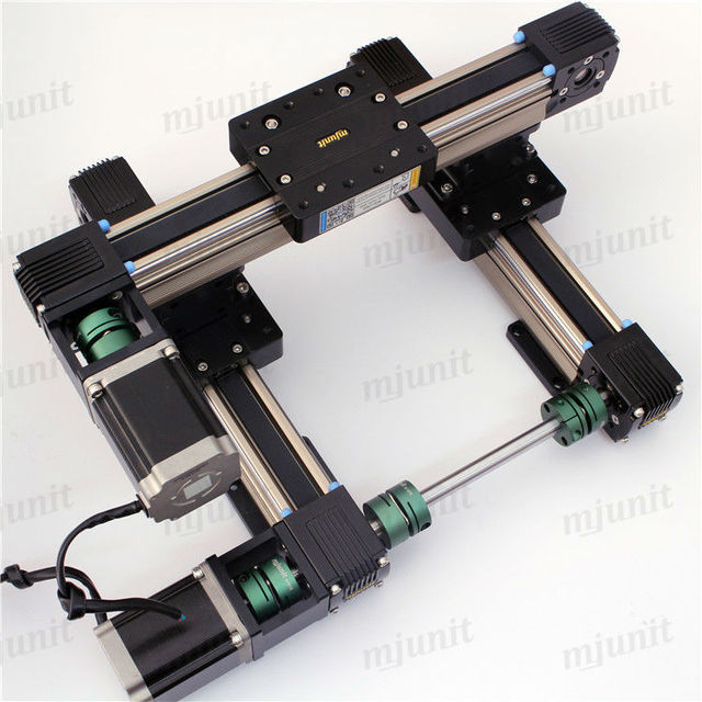 Buy toothed belt drive rail guideway for Linear actuator stepper motor driven