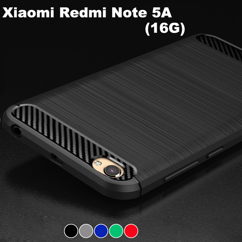 Xiaomi redmi note 5A case armor cover Anti-knock silicone case for xiaomi redmi note 5A / redmi Y1 Lite (2GB+16GB)