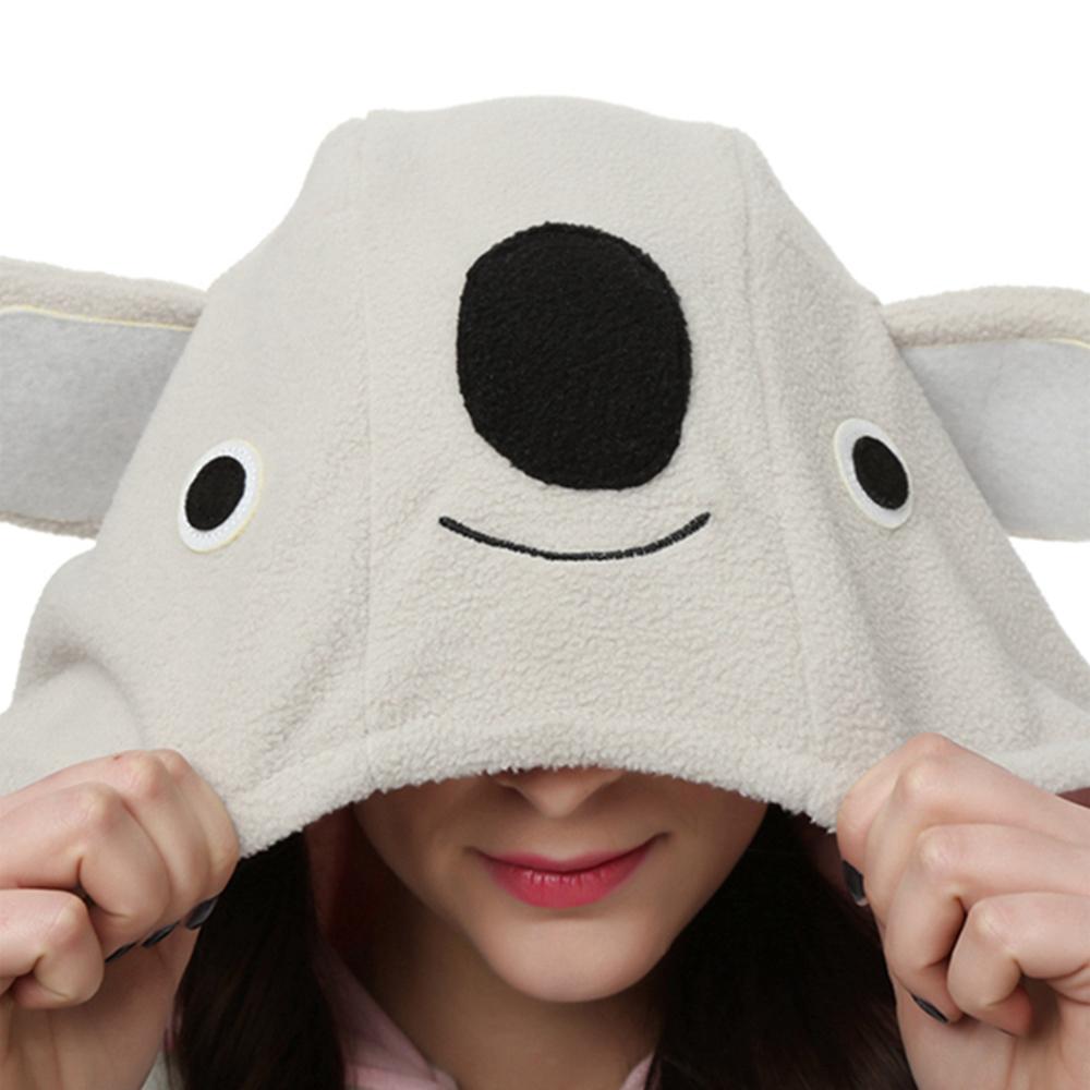 grey koala cosplay pajamas4
