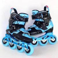 Детские роликовые коньки Slalom CityRun Inline speed роликовые коньки обувь уличная щетка катание для детей регулируемые кроссовки IA109