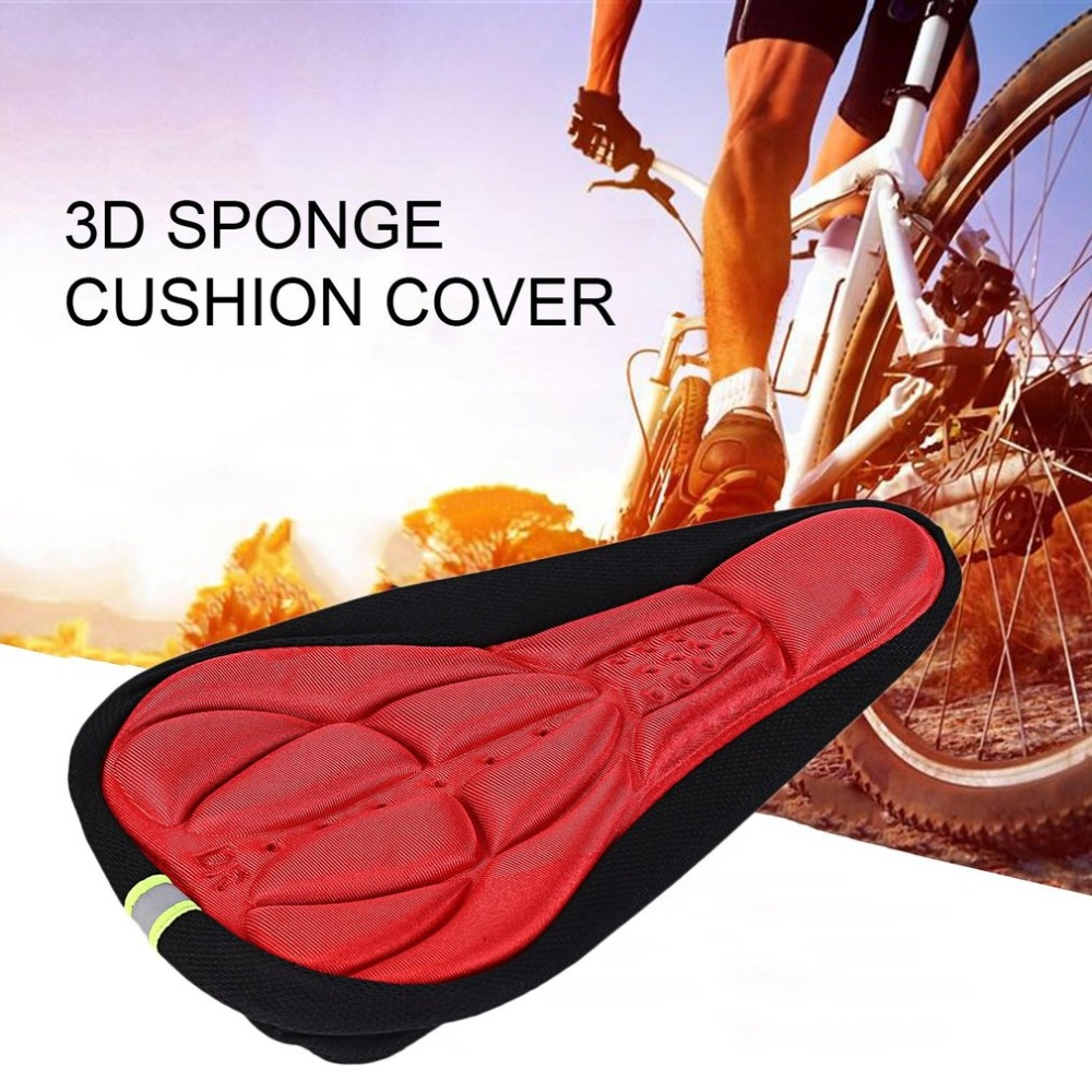 Comfortable Cushion Soft Seat Cover for Bike   Saddle Parts Cycling Seat Mat