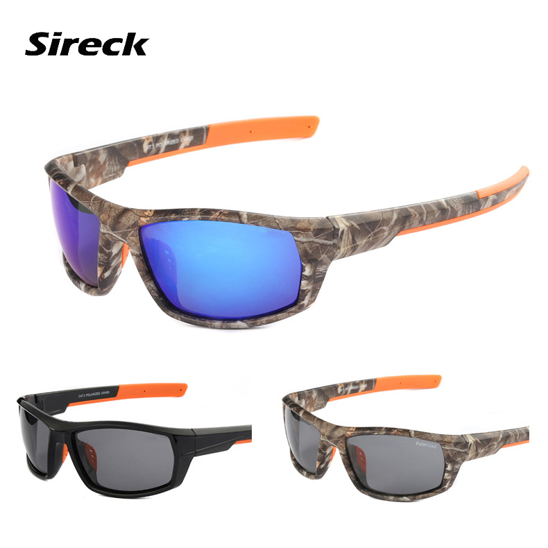 Sireck Polarized Cycling Glasses Men Women Outdoor Sports Bike Bicycle Sunglasses Ultralight Driving Fishing Eyewear 3 Colors