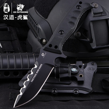 HX OUTDOORS camping knife brand survival D2 blade knife tactical multifunction scabbard hunting utility Knives EDC hand tools