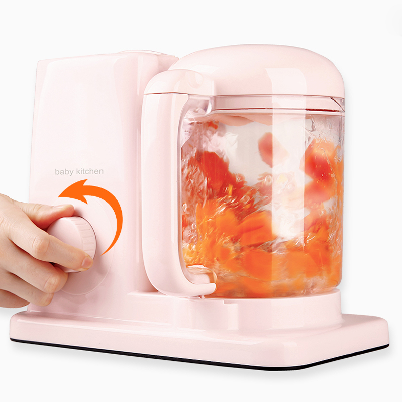 1pc Baby Assist Food Machine Fruit Vegetable Mill Grinder Electric Steam Cooking Mixing BL-1601