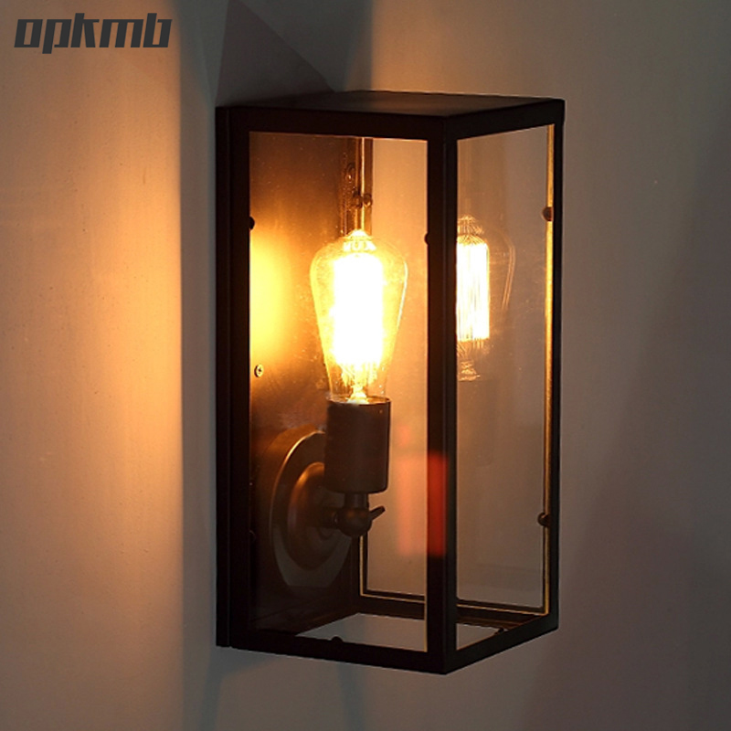 Louis Poulsen scone iron wall light with LED edison bulb Loft American retro vintage led  wall lamp 110V-220V Antique lamp 2013 antique outdoor lighting for wall decerative wall light with edison light bulb vintage wall lamps