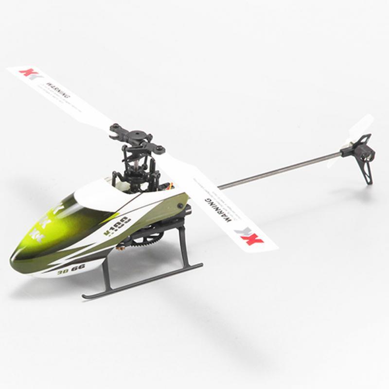 все цены на XK K100 6CH 6-axis Brushless Flybarless RC aircraft RTF120m Remote Control RC Airplane онлайн