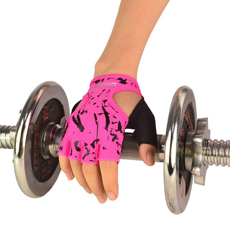 כושר כפפות אימון כושר כפפות ספורט משקל הרמת תרגיל להחליק עמיד כפפות לנשים יוגה כפפות