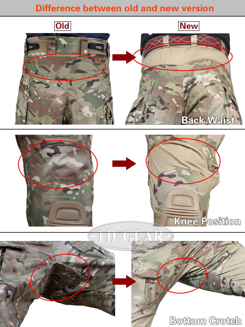 7660f14b20ce6 ... Pants winter Hunting Emersongear G3 Multicam Combat Military Army  Airsoft Tactical Emerson bdu Camouflage Trousers ...