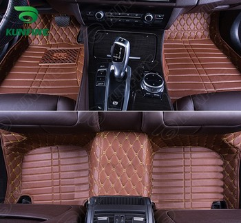 Top Quality 3D car floor mat for VW Touran foot mat car foot pad 4 colors Left hand driver drop shipping