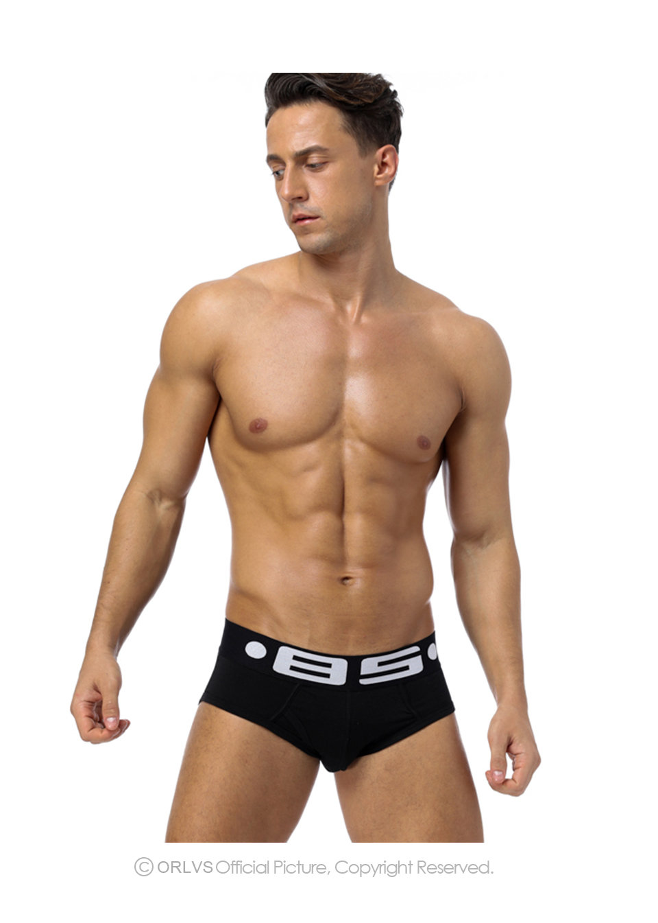 Men's Underwear Orlvs Brand Men Underwear Sexy Men Briefs Breathable Mens Slip Cueca Male Panties Underpants Briefs 4 Colors B102 Briefs