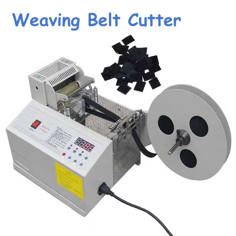 Automatic Computer Control Weaving Belt Cutting Machine Fillet/ Chamfer Magic Tape Zipper Cutting Machine Model 105