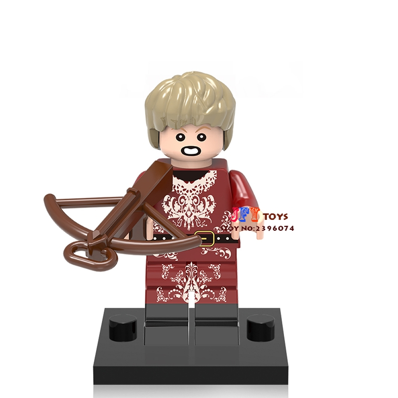 Single Sale star wars super hero Game of Thrones TV Joffrey Baratheon building blocks model toys for children brinquedos menino