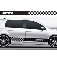 YONGXUN For VW Volkswagen Golf Scirocco Polo Racing Stripes Stickers Decals 009 Car Styling DA 00y2