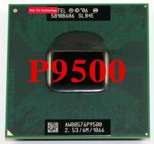Lifetime warranty Core 2 Duo P9500 2.53GHz Notebook processors Laptop CPU PGA478 Official version Computer Original