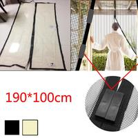 Summer Useful Mesh Hands Free Screen Net Magnetic Anti Mosquito Bug Home Door Curtain Pantallas De