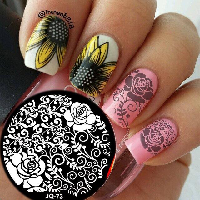 Aliexpress Buy New Jq Designs Nail Art Image Stamp Stamping