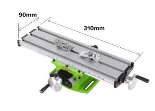 Woodworking Machinery Parts Miniature precision multifunction Milling Machine Bench drill Vise Fixture worktable