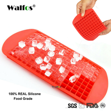 WALFOS Food Grade Silicone 160 Small Ice Maker Tiny Ice Cube Trays Chocolate Mold Mould Maker For Kitchen Bar Party Drinks