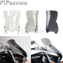 High Quality Motorcycle Front Windshield For Suzuki 06-16 Boulevard M109R Supermoto Windscreen