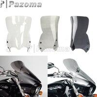 Motorbike Windscreens Windshield Deflectors Clear Smoke Black For Suzuki Boulevard M109R M50 M90 2006 2016