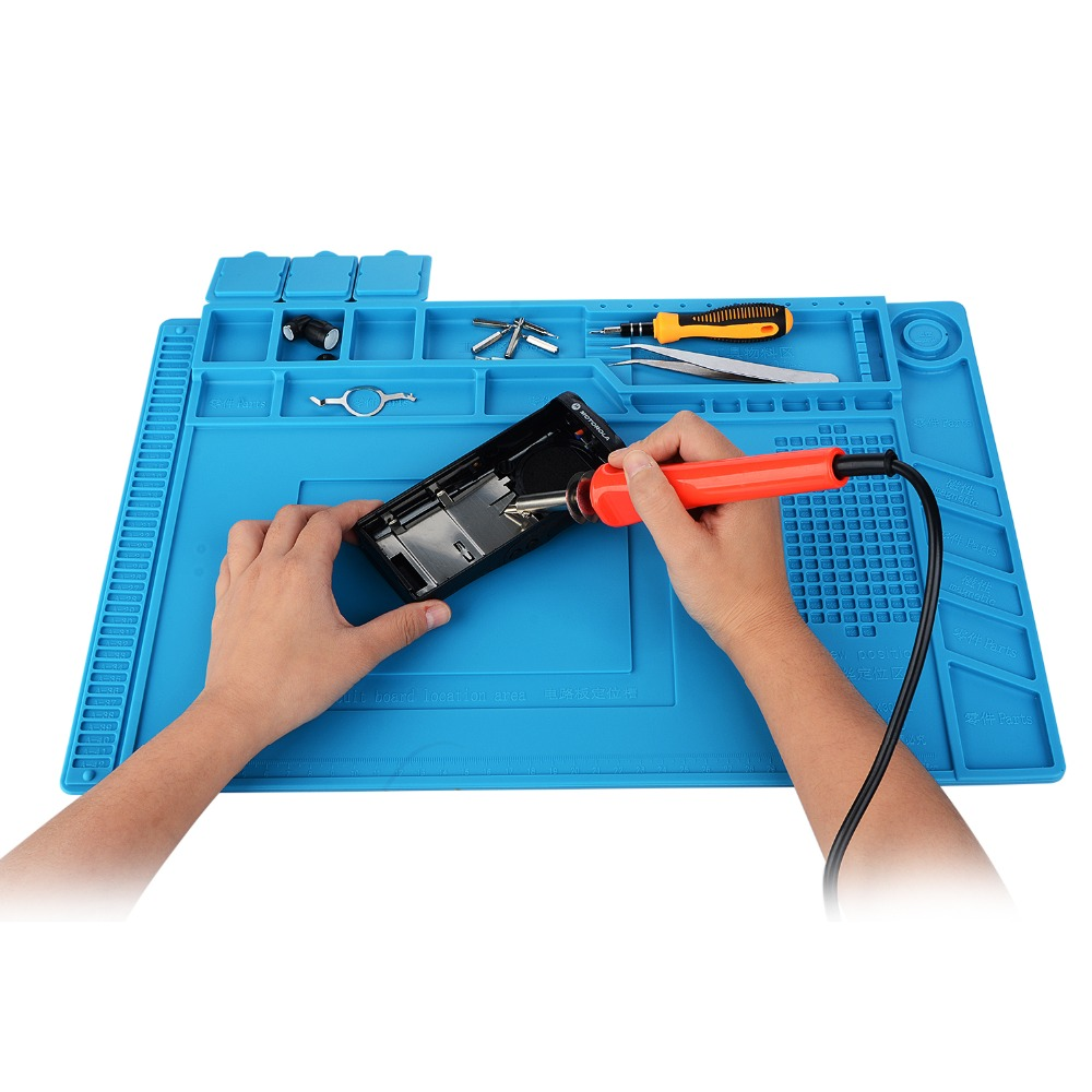 Silicone Heat Insulation Maintenance font b Electronic b font Repair Mat Insulator Pad Platform Repair Tool