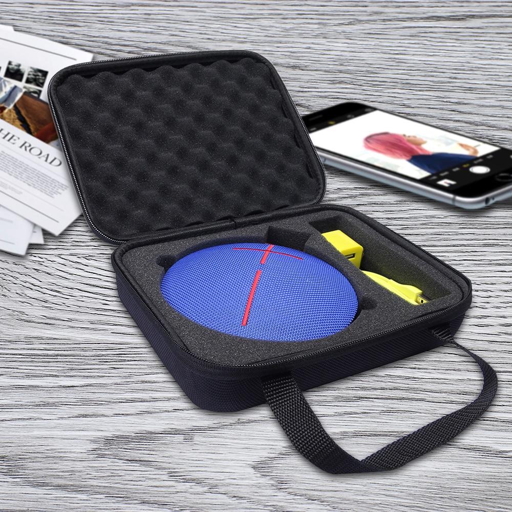 imágenes para Portable Al Aire Libre de La Manga Protectora Bolsa bolsa Caso de la Cubierta Para Logitech UE Rollo 360/UE Rollo 2 Portátil Inalámbrico Bluetooth altavoz