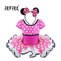 2017 Summer Kids Baby Girls Christmas Gift Ballet Dress For Party Fancy Costume Cosplay Clothes Girls