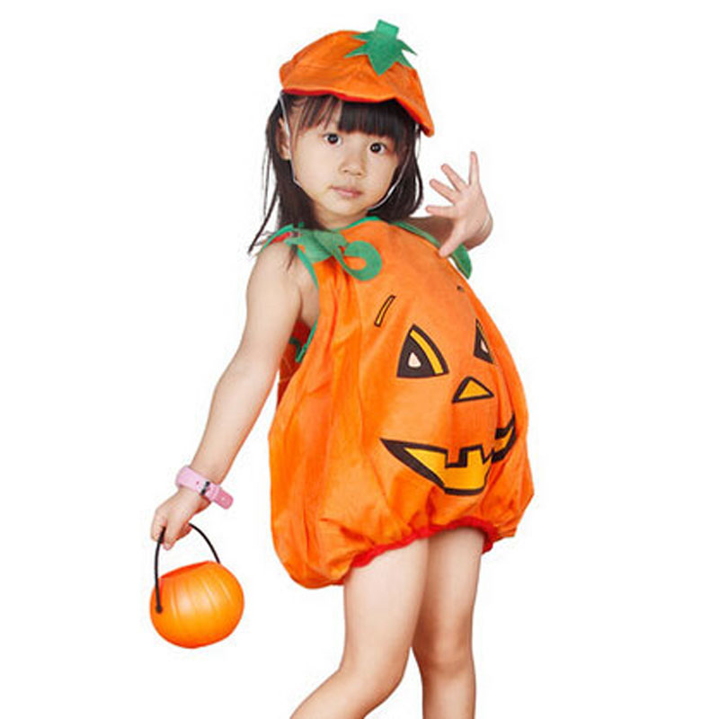Umorden Flannel Halloween Costumes for Toddler Kids Children Carnival Party Pumpkin Costume Outfit for Baby Boy Girl