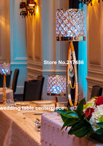 Hot Sale Flower Vase Wedding Centerpieces Decoration Party Decorations Crystal Tall Table Centerpiece