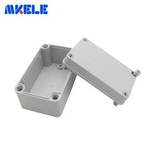 ABS Plastic Electrical Box DIY Outdoor Box Waterproof Junction Boxes IP65 80*130*70MM Cable Connector Scatole Elettriche