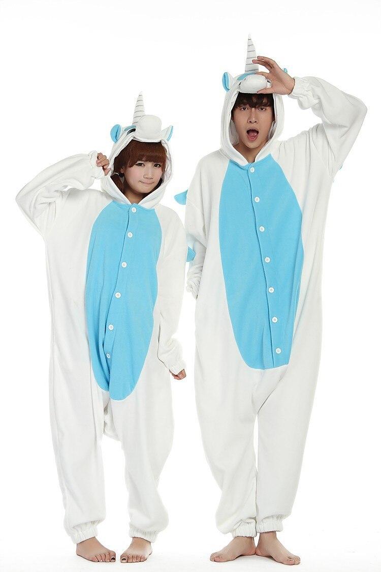 Adultos pijamas unicornio Cosplay de una pieza ropa de