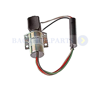 Solenoid 10871 without Plug for Corsa Electric Captain's Call Systems 12V 3-Wire Electric