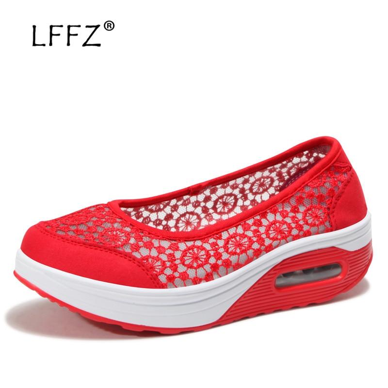 timeless design 0a8a2 e3dfd Mocassins D air Lffz Casual Amortissement Coussin Les Printemps Mode rouge  2019 bleu Noir Plat Chaussures ...