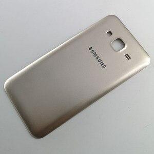 Image 3 - New J5 Rear Housing case For Samsung Galaxy J5 2015 J500 J500F J500H J500FN Battery Back Cover Battery Door