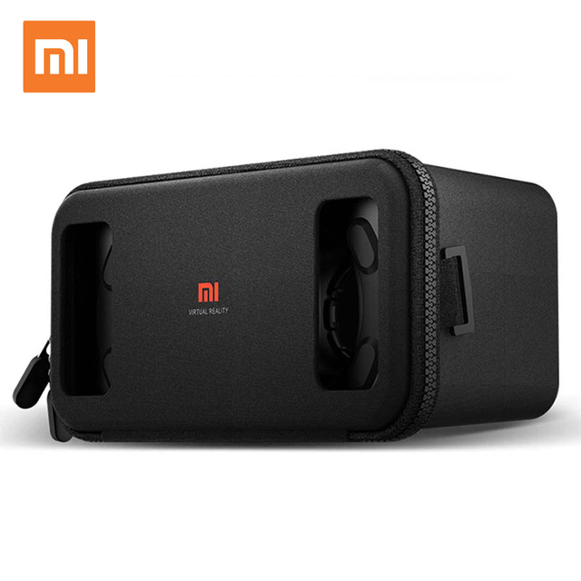 Original Xiaomi VR box 3D Virtual Reality Glasses cardboard MI VR apply to apple iphone sumsang meizu 4.7~5.7 Smartphone