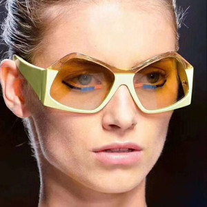 2018 Polygonal Sunglasses Wome