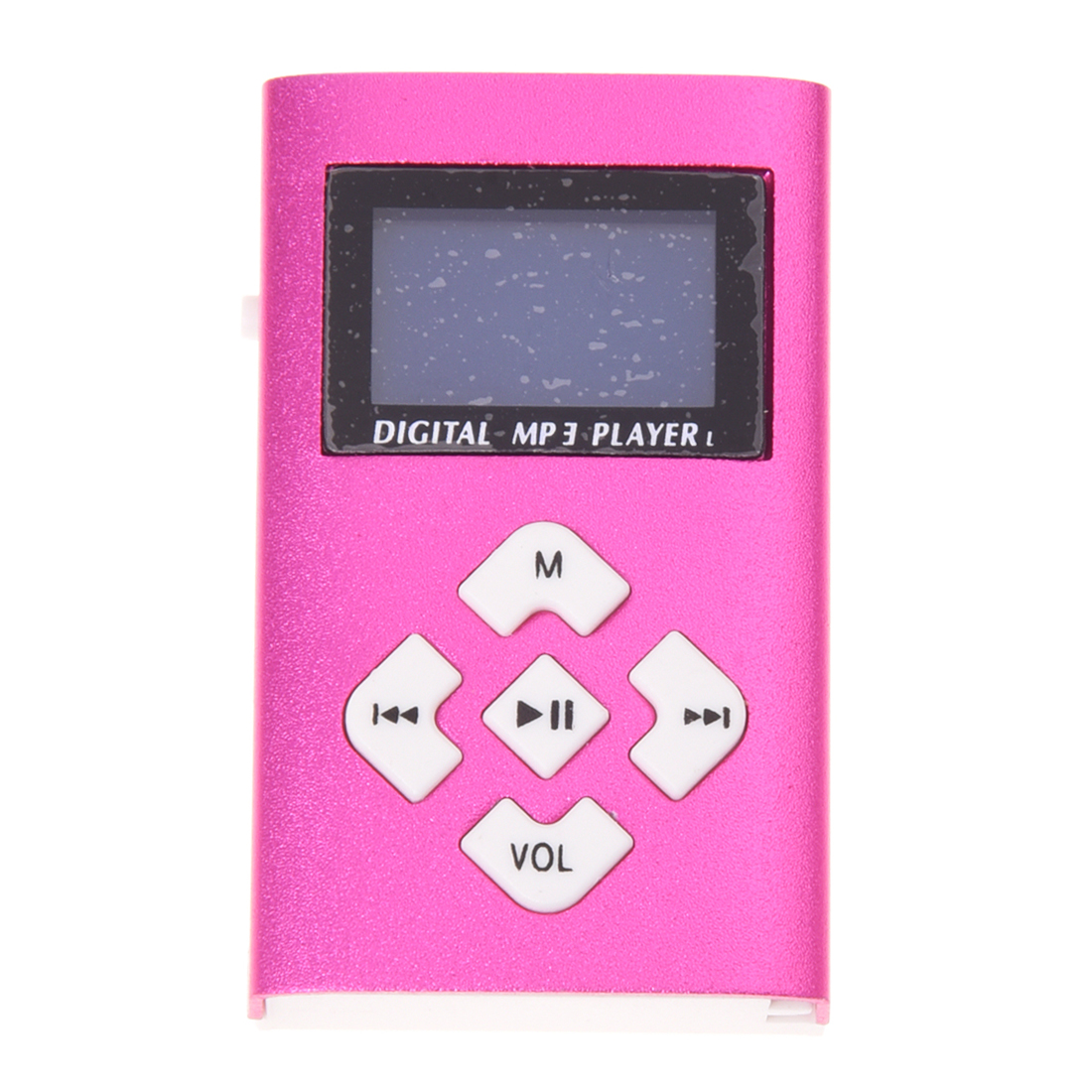 Usb Lcd Screen Mini Mp3 Player 32 Gb Mini Sd Tf Mp3-player rose Rot/blau
