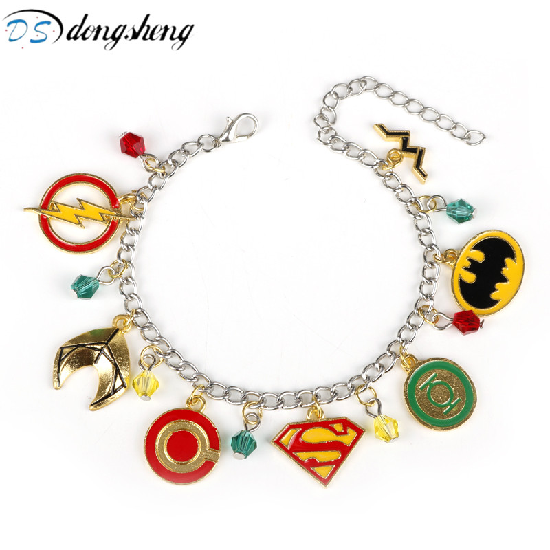 dongsheng Superhero Jewelry DC Comics Justice League The Fla