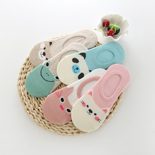 5 Pair Harajuku Socks Women Cartoon Print Animal Panda Frog Cat Pattern Meias Cotton For Summer Female Cute Sokken