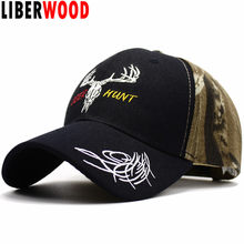 LIBERWOOD Hunting Style Woodland Army Green Camouflage Baseball Hat Cap Deer Hunt Cap Realtree Xtra Camo Hat Father's Gift(China)