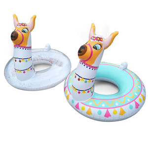 Outdoor toys Hot sale good looking Pool Float Ride On Party Alpaca Inflatable Swimming Ring Water Supplies Toys Inflatable Toys