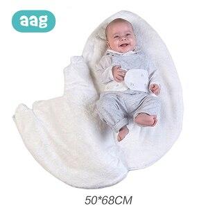 Image 3 - AAG תינוק שק שינה ביצת Cocoon יילוד Sleepsacks רוכסן שינה לעטוף עבור עגלת תרדמת תינוק שקיות מצעים אביזרי *
