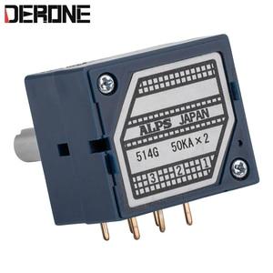 Image 2 - 1 peça 50k volume potenciômetro amplificador de potência controle volume alpes 27 para áudio audiophile diy