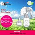 Nueva América (EE.UU.) marca Bombas de Mama Bomba De Alimentación/producto Del Bebé + PP/BPA libre con leche Extractor de leche Manual de botella Sin Dolor