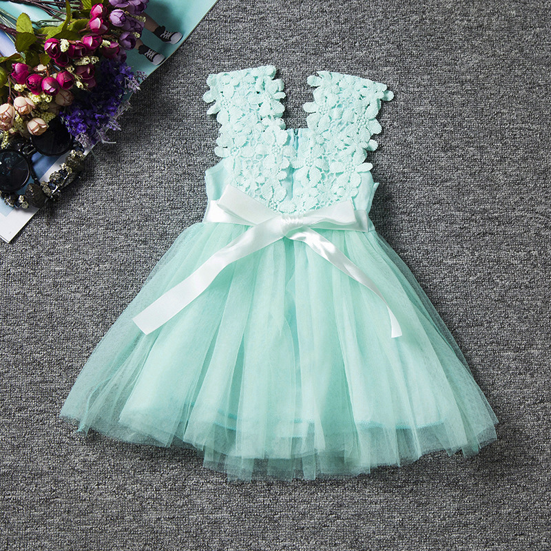 217bb50ea30 US $18.75 |Best quailty 2017 Kids Girl Princess dress Autumn spring dress  Child Children Spain Russia fashion colourful summer dress-in Dresses from  ...