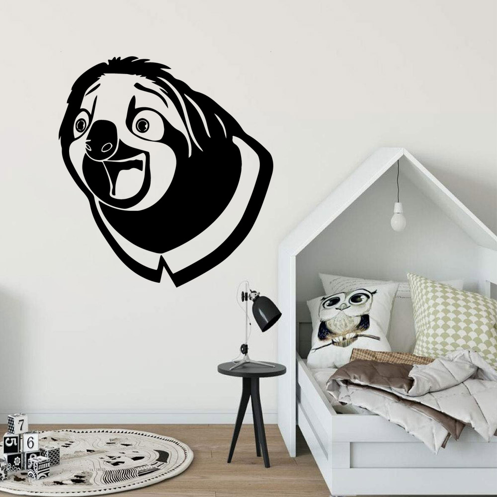Funny Zootopia Home Decoration Accessories For Kids Rooms Wall Art MURAL Drop Shipping