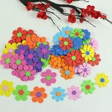 50 шт./пакет микс цветов пенные наклейки детские игрушки набор для скрапбукинга для раннего развития детей DIY Детский сад декоративно-прикладного искусства ремесло