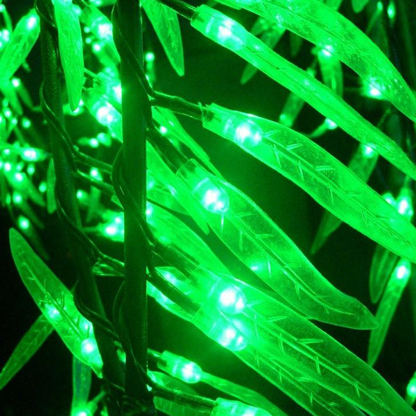 Christmas party wedding holiday decor LED Artificial Weeping Willow ...