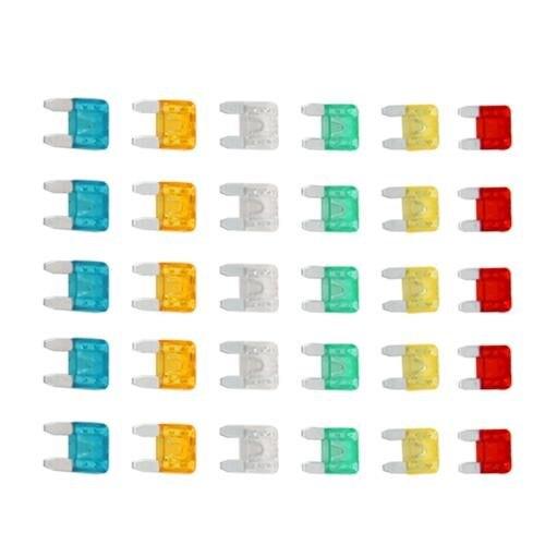 BOFO Set 30 Mini fusible enchufable para Coche Moto Automovil en STOCK envío gratis