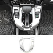 For HONDA CR-V CRV 2017 2018 5th Gen AT (LHD) ABS Chrome Shift Gear Panel Car Cover car styling